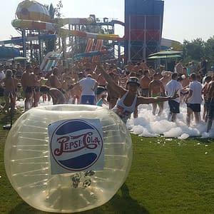 buborékfoci rendezvény fesztivál pepsi cola
