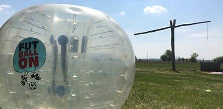 buborékfoci rendezvény kitelepülés program falunap
