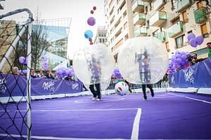 Buborékfoci Milka promóció