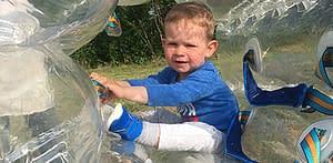 futballon buborékfoci születésnap gyerekzsúr gyerek program